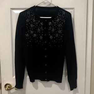 Sweaters - Black Button Up Sweater